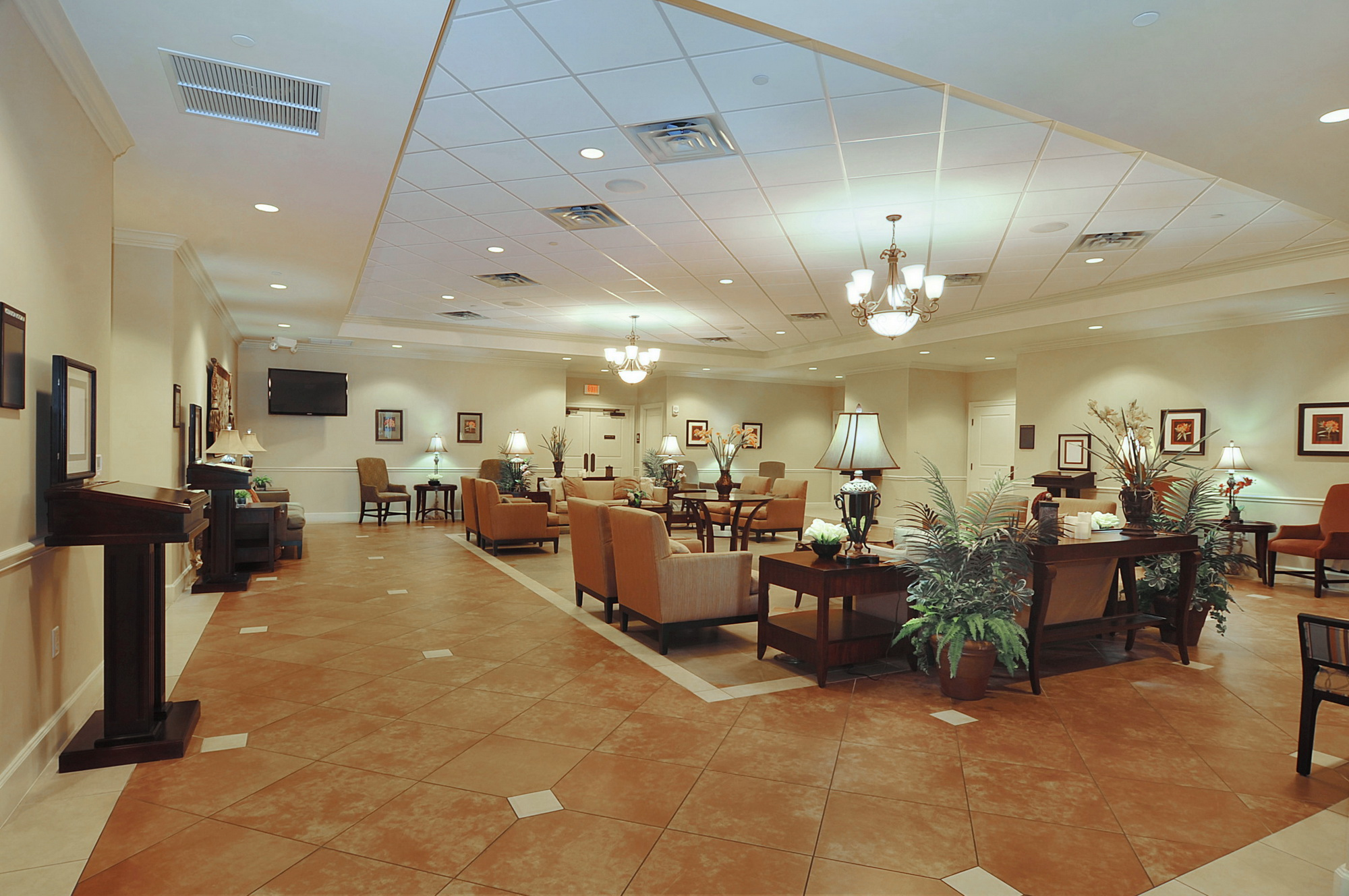 Caballero river woodlawn funeral home hialeah chapel Funeral home interior design