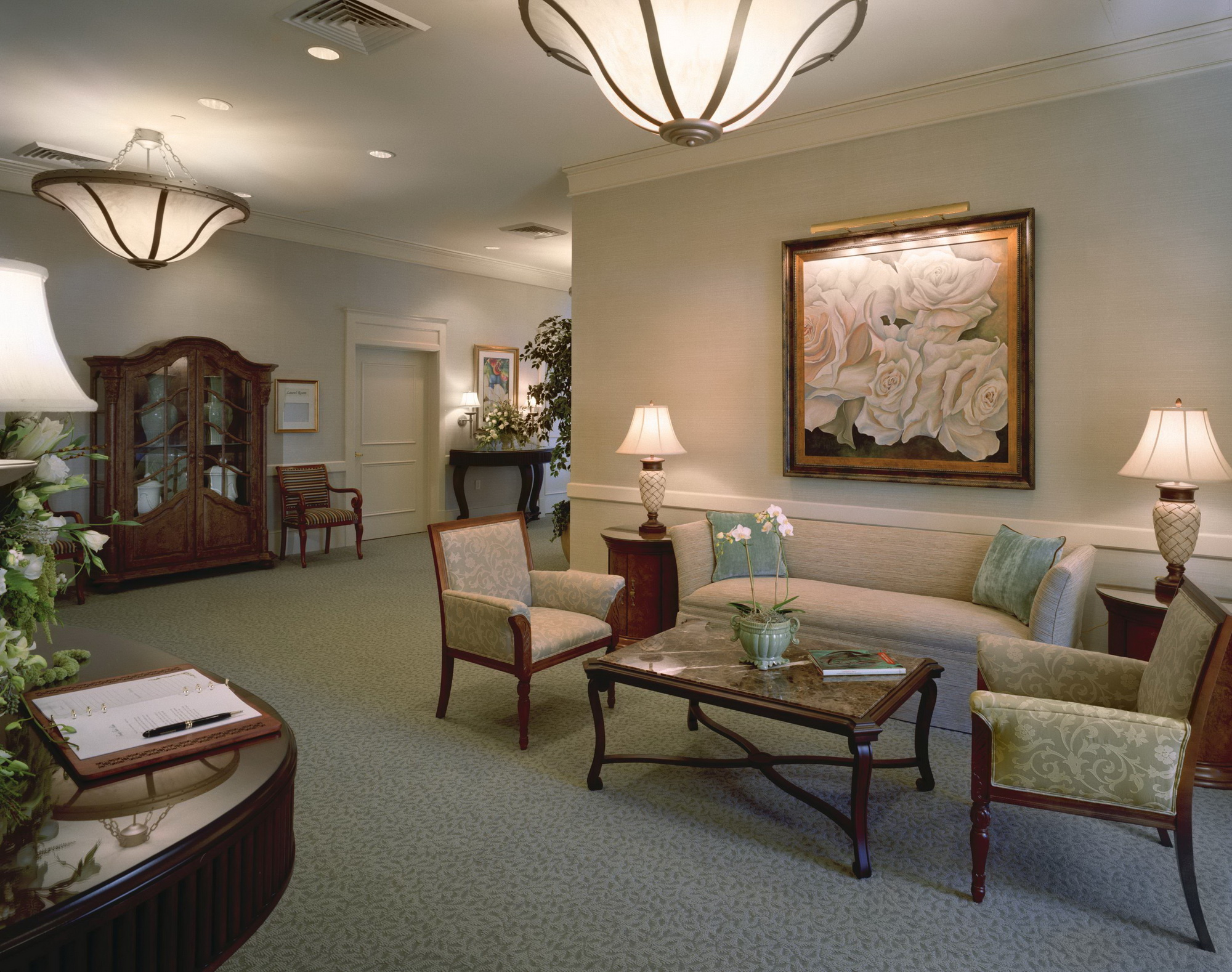 Cypress lawn funeral home jst architects for Home indoor design