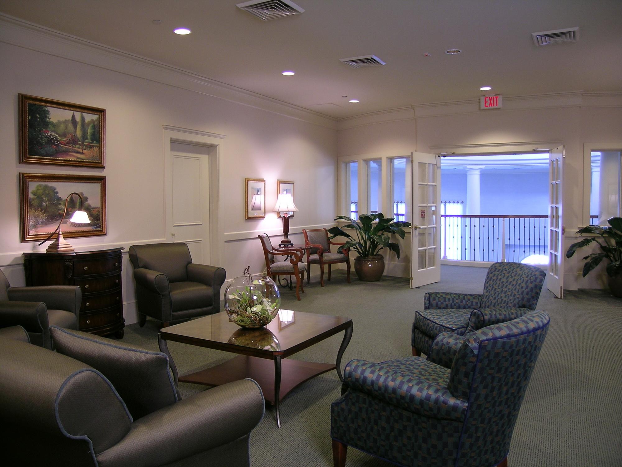 Funeral home decor ideas - Modern funeral home interior design ...