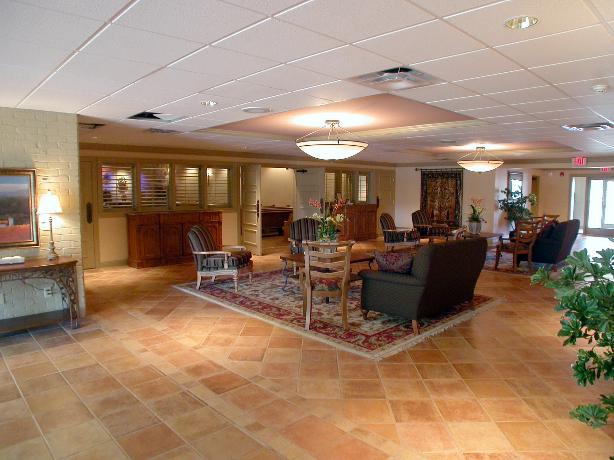 Eubank Funeral Home Jst Architects Funeral Home Interior Design