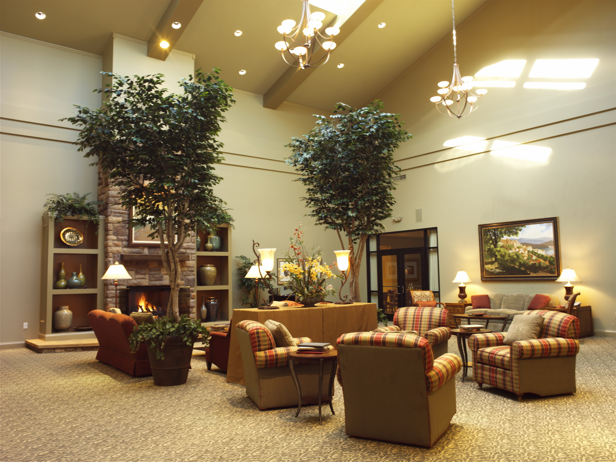 Geib funeral services jst architects - Funeral home interior design ...