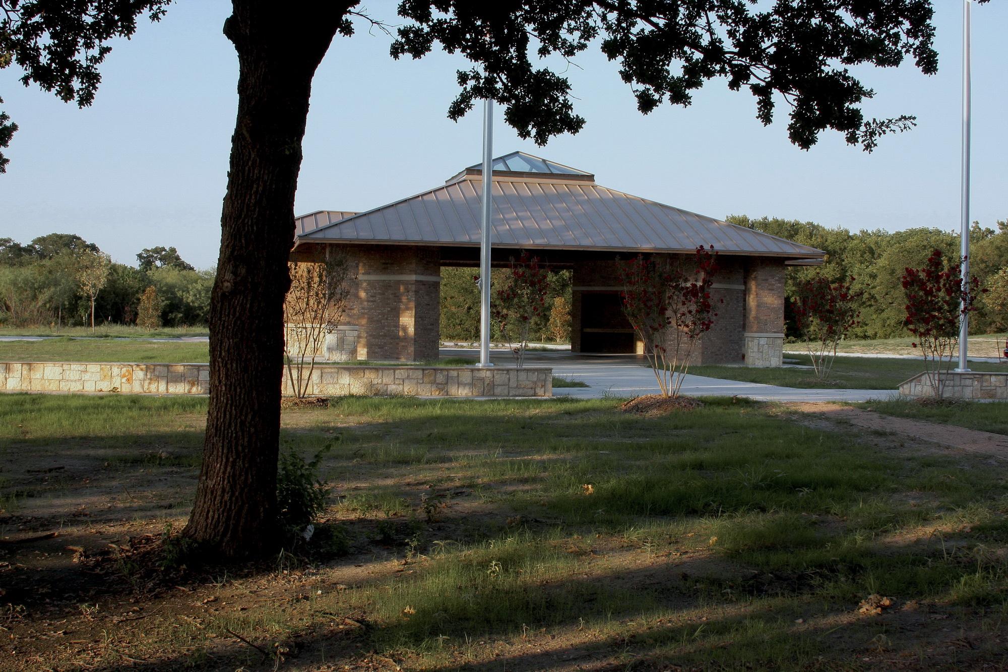garden outdoor pavilion indoor pavilion cemetery office funeral home
