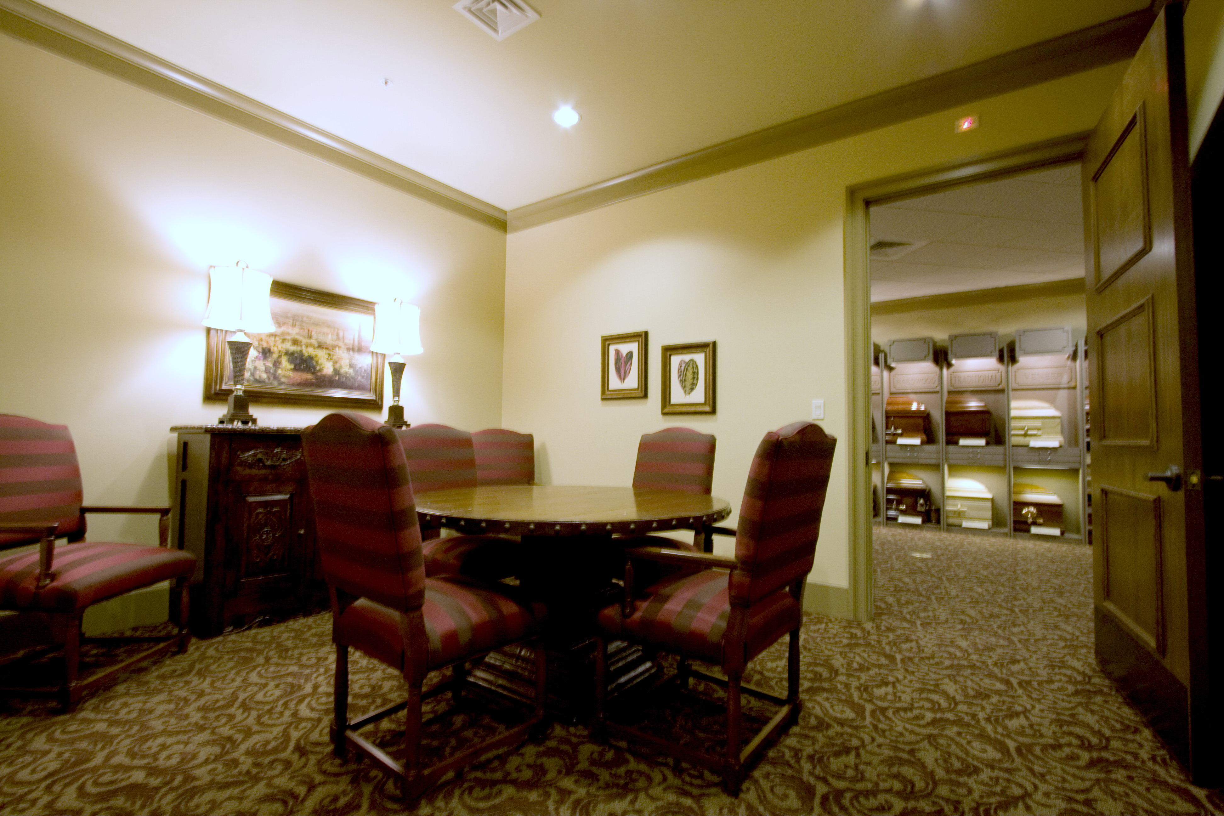 Tulocay funeral home jst architects Funeral home interior design
