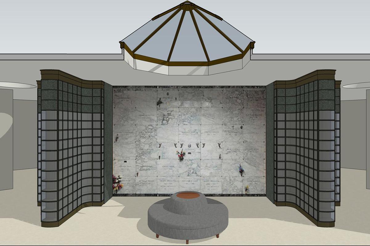 Knollwood Mausoleum Remodel Jst Architects